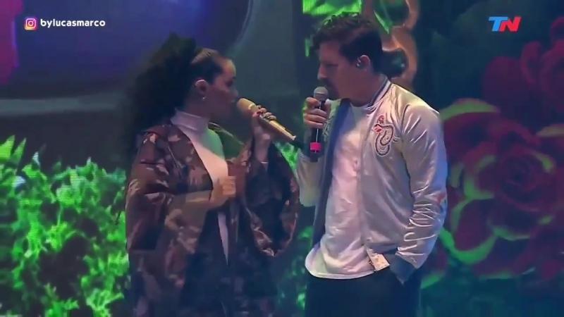 Lali ft. Mau y Ricky - Mi Mala (LUNA PARK)