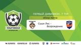 ТФЛ 2019   Первый дивизион   7 тур   Суши Лис-Возрождение   обзор