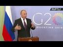 Vladimir Poutine tient une conférence de presse après le G20