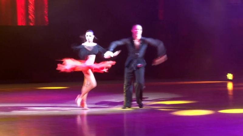 Андрей Зайцев и Анна Кузьминская - Paso doble и Samba на Шоу Чемпионов 2018