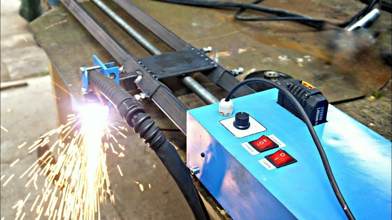 Making MOTORIZED Plasma Cutting Track