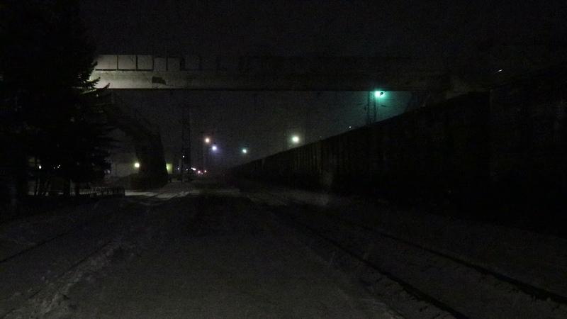 ВЛ80Р отправляется со станции Иланская