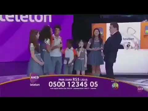 Silvio Santos faz piadas ofensivas com artistas no Teleton 2018