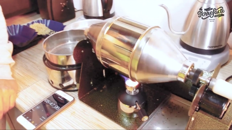 Ростер для обжарки кофе в домашних условиях