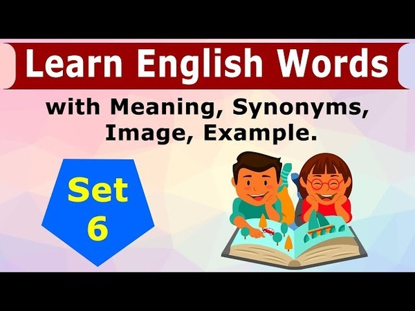 English Vocabulary Set 6 - Learn 5 English Words in Hindi with Meaning and Examples   Click How