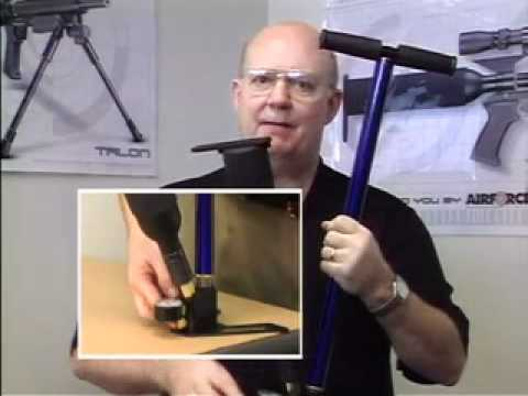 AirForce Talon / SS Pre-charged Pneumatic air rifle - Video Manual