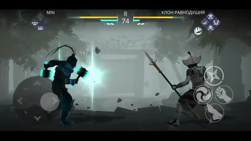 Shadow fight 3( 3 hits and lose)