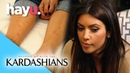 Kim Diagnosed With Psoriasis | Keeping Up With The Kardashians