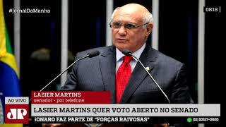 Lasier Martins entra com mandado de segurança no STF por voto aberto para presidência do Senado