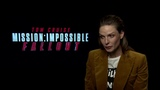 Rebecca Ferguson was blown away by Mission Impossible - Fallout