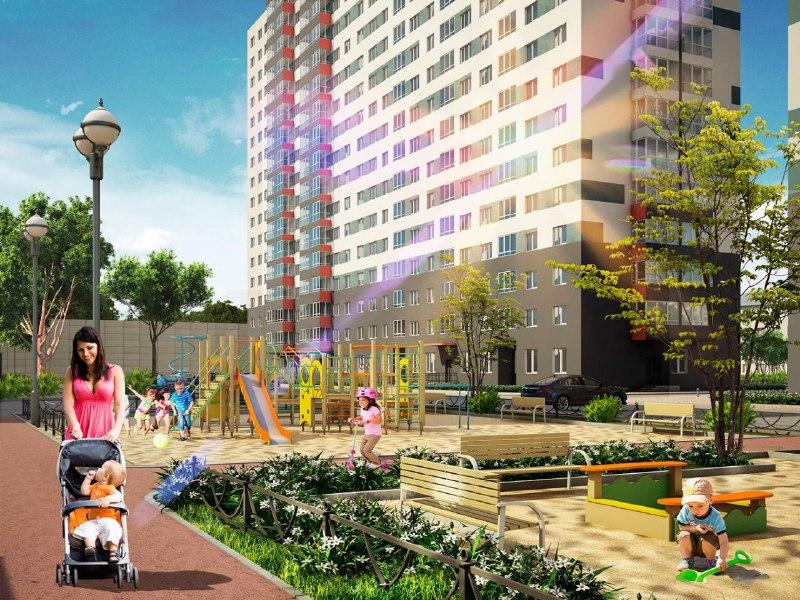 В новом жилом комплексе на границе с Савеловским начались продажи апартаментов