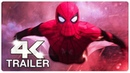 SPIDER MAN FAR FROM HOME : 5 Minute Trailer (4K ULTRA HD) NEW 2019