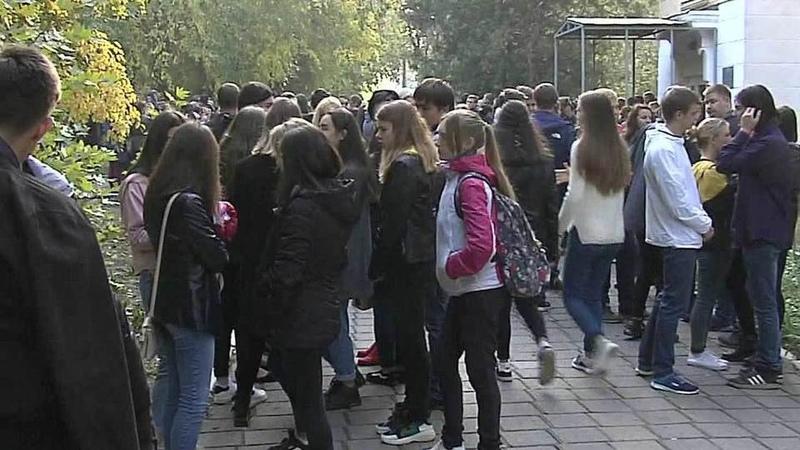 ВКерченском политехническом колледже возобновляются занятия. Новости. Первый канал