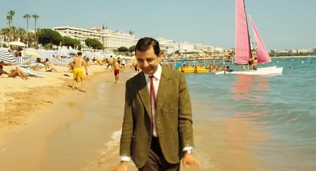 радость на пляже, мистер Бин