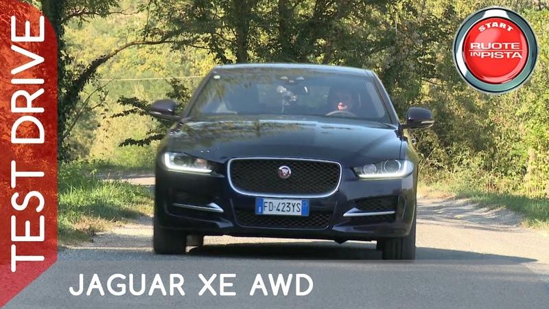 Jaguar XE AWD Test Drive Marco Fasoli Prova