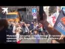 Сергей Шнуров дал концерт на грузовике, который ехал по Невскому
