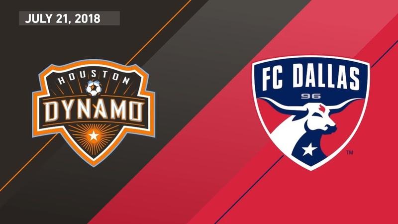 HIGHLIGHTS: Houston Dynamo vs. FC Dallas | July 21, 2018