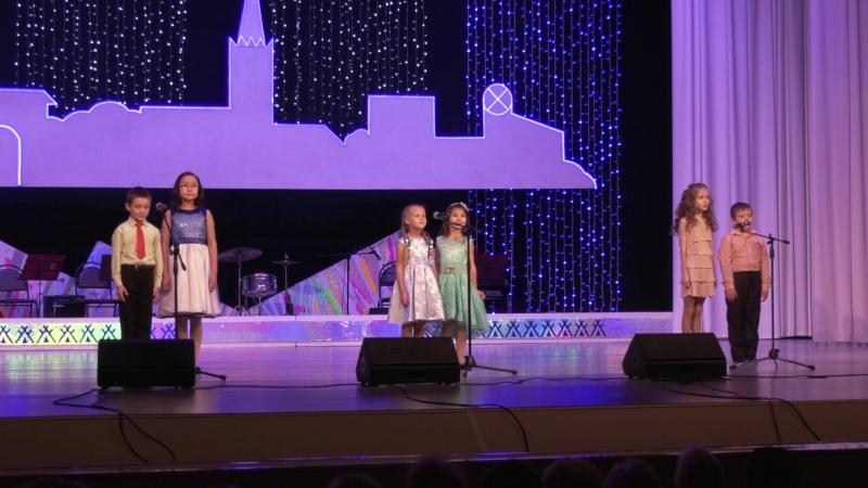 I этап городского шоу-конкурса ведущих Мастера церемоний (самые юные участники)