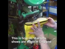 How Dr. Martens makes its iconic shoes