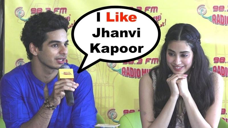 Ishaan Khattar BLUSHES While Talking About Girlfriend Jhanvi Kapoor