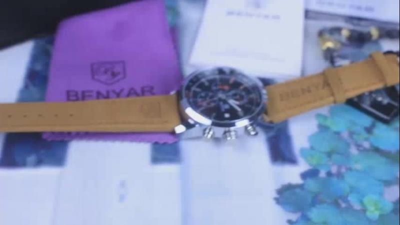 Aliexpress.com _ Buy 2017 BENYAR Watches Men Luxury Brand Quartz Watch Fashion Chronograph Sport Reloj Hombre Clock Male hour re