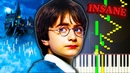 HARRY POTTER THEME (Hedwig's Theme) - Very Hard Piano Tutorial