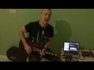Дмитрий Плотников Classic Rock solo (LZ - Stairway to heaven)