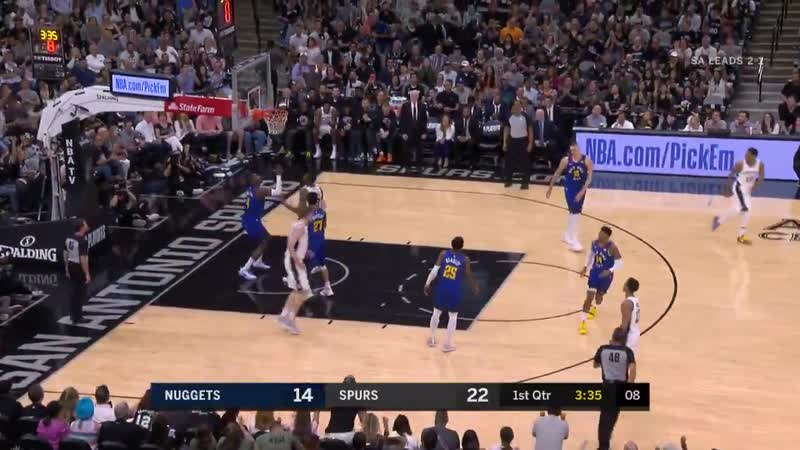 Throw it up and let LaMarcus take care of the rest!