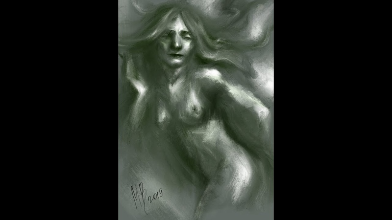 Drowned woman | SPEED PAINT