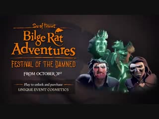 Official sea of thieves bilge rat adventures: festival of the damned