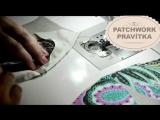 Patchwork Winding Ways - Patchworkova sablona