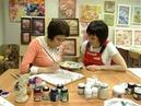 Мастер класс росписи по ткани Батик от Вероники Русско