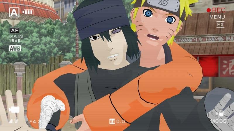 [MMD Naruto] SasuNaru - Photo Bomb