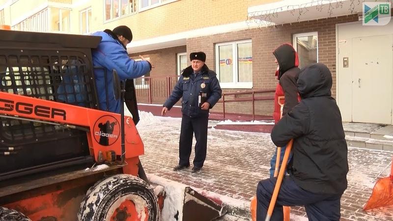 «Снегопад». Госадмтехнадзор контролирует уборку снега