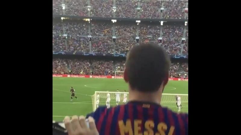 Şampiyonlar Liginde İlk Qolu Messi Vurdu Canlı Efsane 💪💪