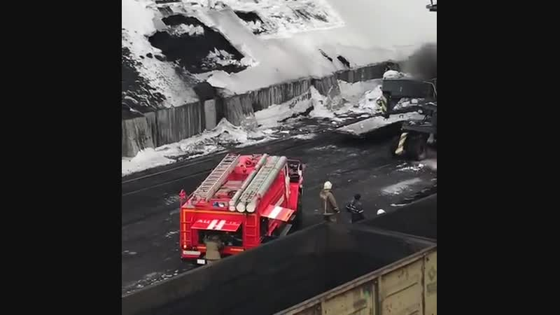Ванино Происшествие в порту 19 Февраля 2019