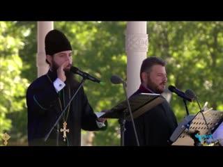 Хор братии Валаамского монастыря (на греческом)