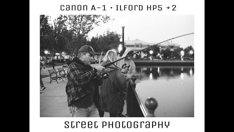 Street Photography Vlog (Canon A-1 x Ilford Hp5)