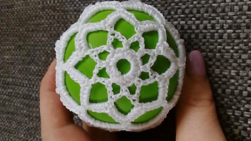 Mała szydełkowa bombka 7cm - cotton balls En subtitles