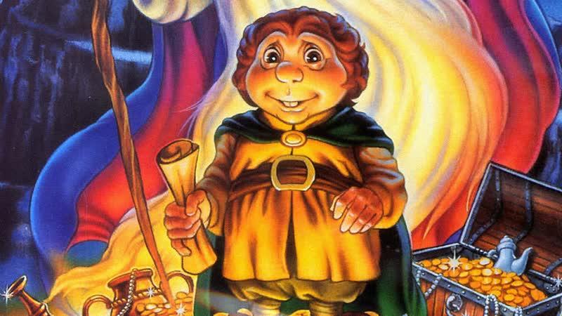 Хоббит / The Hobbit. 1977. 720p. Перевод Алексей Михалев. VHS