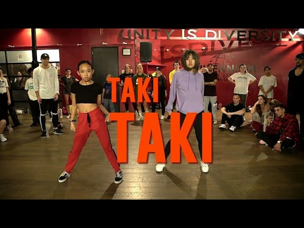 Bailey Sok Nicole Laeno| TAKI TAKI| MATT STEFFANINA CHACHI GONZALEZ CHOREOGRAPHY