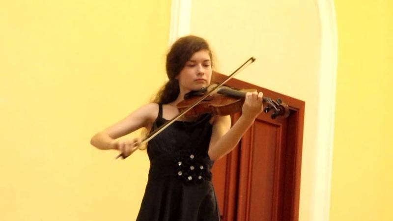 И.С.Бах Прелюдия из сюиты для виолончели соло №2 d-moll (переложение для альта)