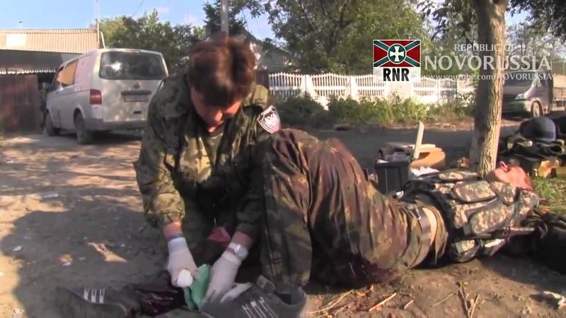 3 Бой за Донецкий аэропорт Моторолла Гиви 2