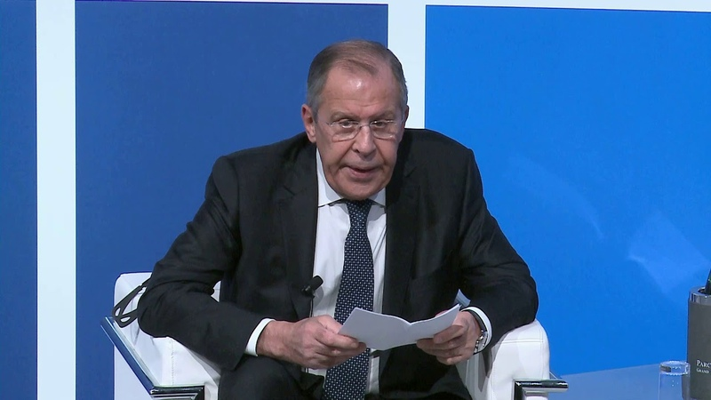 Med2018 - Special Dialogue with Sergey Lavrov