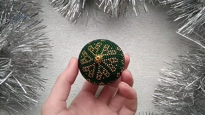 Ёлочный шарик Снежинки