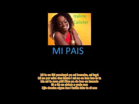 CURACAO Top Songs- Mi Pais- Izaline Calister [Lyric]