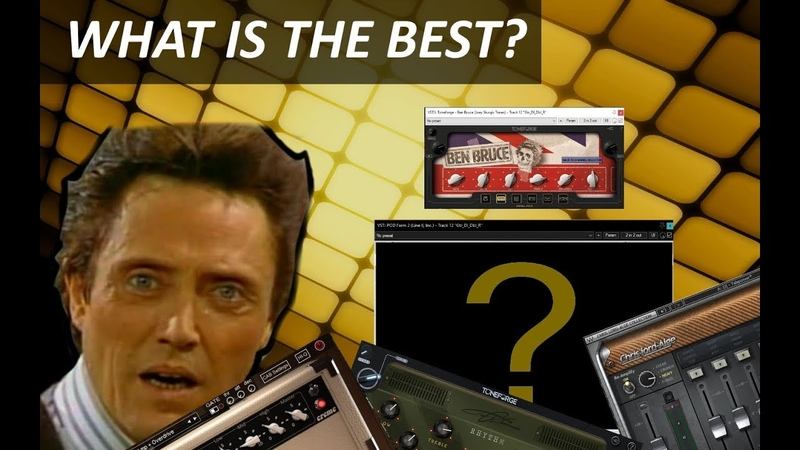 VST GUITAR AMP SIMS PLUGINS COMPARSION / ЧТО САМОЕ ЛУЧШЕЕ В DJENT?