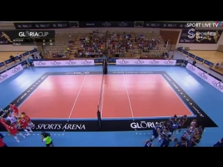 Gloria Cup Volleyball 2018 Russia vs Italy