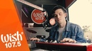 Lauv sings I Like Me Better LIVE on Wish 107.5 Bus