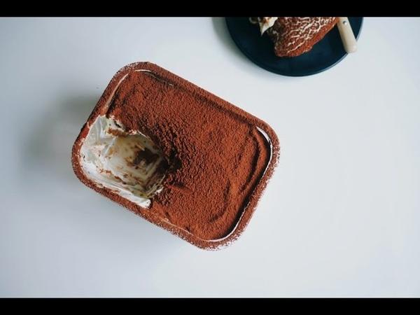 티라미수를 더 맛있게 ! 커스터드 티라미수 만들기 (레이디핑거 까지~) Custard Tiramisu | 한세